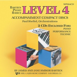 Bastien Piano Basics: Accompaniment CDs - Level 4 Complete