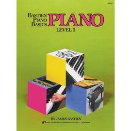 Bastien Piano Basics: Piano - Level 3