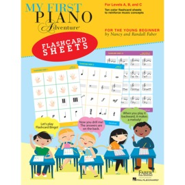 My First Piano Adventure® - Flashcard Sheets