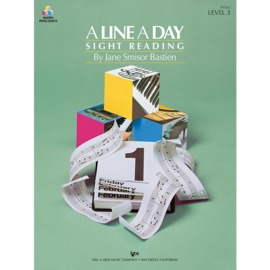A Line A Day Sight Reading - Level 3
