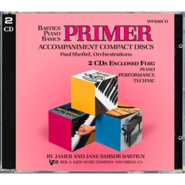 Bastien Piano Basics: Accompaniment CDs - Primer Level Complete