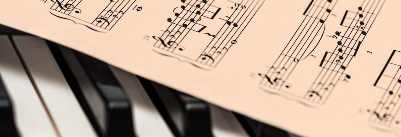 Piano and piano notes