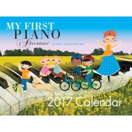 Faber Piano Adventures - 2017 My First Piano Adventure Calendar