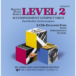 Bastien Piano Basics: Accompaniment CDs - Level 2 Complete