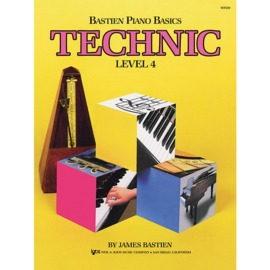 Bastien Piano Basics: Technic - Level 4