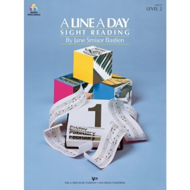 A Line A Day Sight Reading - Level 2