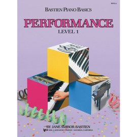 Bastien Piano Basics: Performance - Level 1