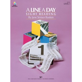 A Line A Day Sight Reading - Level 1