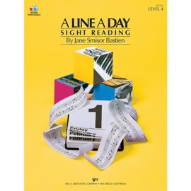 A Line A Day Sight Reading - Level 4