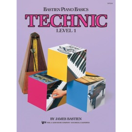 Bastien Piano Basics Technic - Level 1