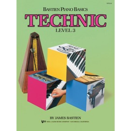 Bastien Piano Basics: Technic - Level 3