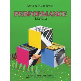 Bastien Piano Basics: Performance - Level 3
