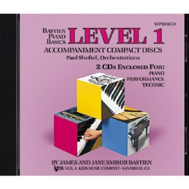 Bastien Piano Basics: Accompaniment CDs - Level 1 Complete
